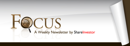 FOCUS - A Weekly eNewsletter by ShareInvestor
